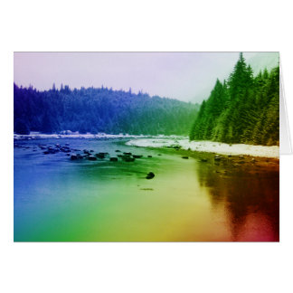 Rainbow River Card