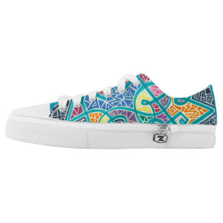 Rainbow Road Shoes Printed Shoes