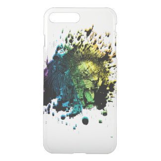 Rainbow Roaring Lion iPhone 8 Plus/7 Plus Case