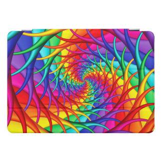 Rainbow Roots Spiral Fractal Ipad Case