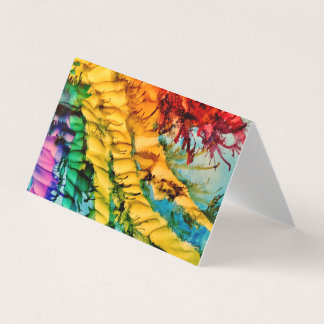 Rainbow Rope (Blank Inside) Card
