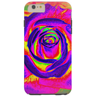 Rainbow Rose Abstract IPhone Cover