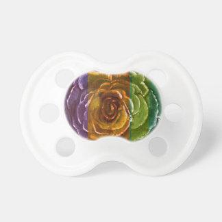 Rainbow Rose Binky Dummy