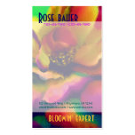 Rainbow Rose Double-Sided Standard Business Cards (Pack Of 100)