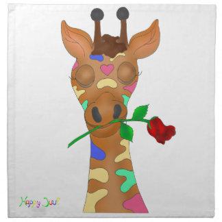 Rainbow Rose by The Happy Juul Company Napkin