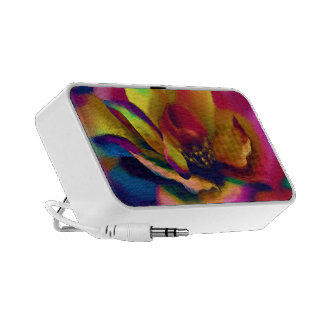 Rainbow Rose Travel Speakers