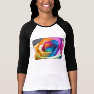 Rainbow Rose T shirt
