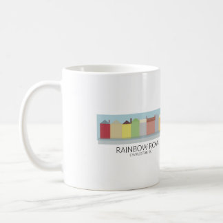 Rainbow Row Charleston, SC Coffee Mug