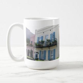 Rainbow Row Houses, Charleston SC Mug
