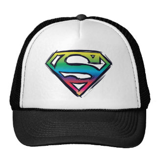 Rainbow S-Shield Trucker Hat