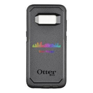 Rainbow San Diego skyline OtterBox Commuter Samsung Galaxy S8 Case