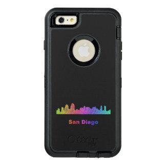 Rainbow San Diego skyline OtterBox iPhone 6/6s Plus Case