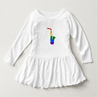 Rainbow Saxophone Dress