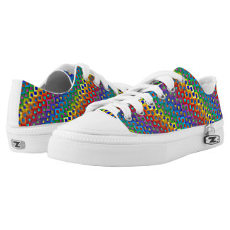 Rainbow scale shoes. low tops
