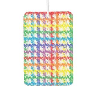 Rainbow Scratch Car Air Freshener