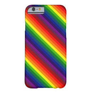 RAINBOW SELECT! (a multi-colored striped design) iPhone 6 Case