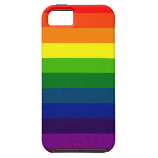 RAINBOW SELECT a multi-colored striped design Cover For iPhone 5/5S