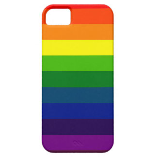 RAINBOW SELECT a multi-colored striped design Case For iPhone 5/5S