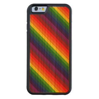 RAINBOW SELECT! (a multi-colored striped design) Cherry iPhone 6 Bumper