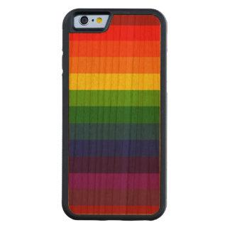 RAINBOW SELECT! (a multi-colored striped design) Cherry iPhone 6 Bumper Case