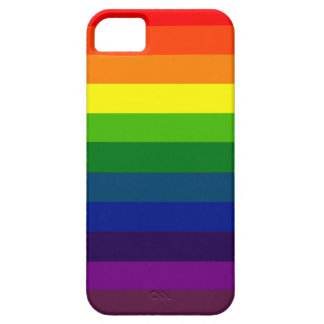 RAINBOW SELECT stripe design Cover For iPhone 5/5S