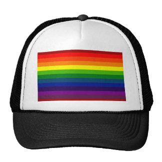 RAINBOW SELECT stripe design Hats