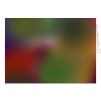 rainbow series a7 greeting card