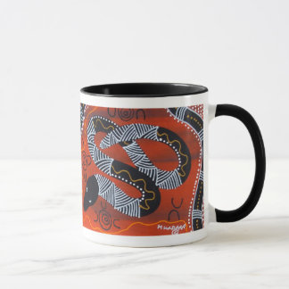 Rainbow Serpent Mug with Dreamtime Story