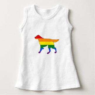 Rainbow Setter Dress