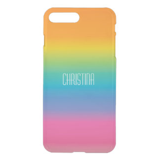 Rainbow Shade Gradient iPhone 8 Plus/7 Plus Case