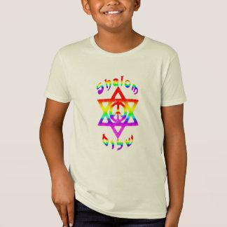 Rainbow Shalom Kids' Shirts