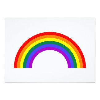 Rainbow Shape Card