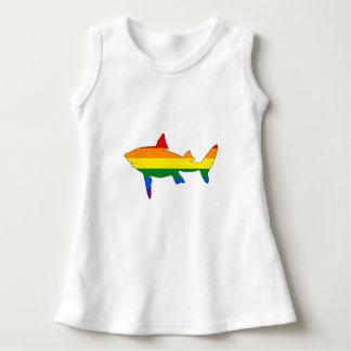 Rainbow Shark Dress