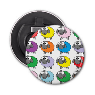 Rainbow Sheep Bottle Opener