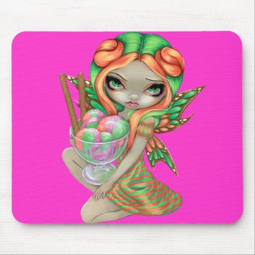 """Rainbow Sherbet Fairy"" Mousepad"