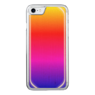 Rainbow Shine Carved iPhone 7 Case