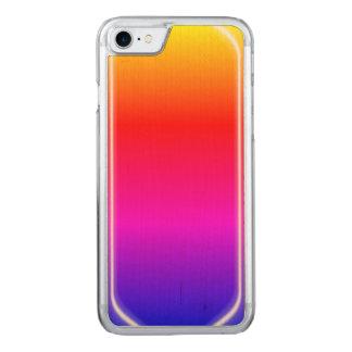 Rainbow Shine Carved iPhone 8/7 Case