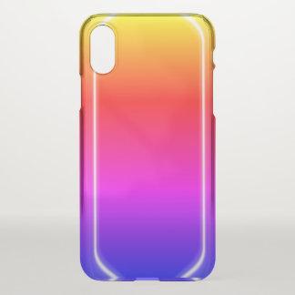 Rainbow Shine iPhone X Case