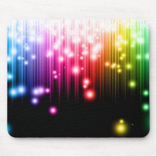 Rainbow shine mouse pad