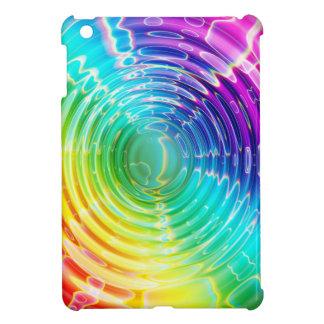 Rainbow Shockwave iPad Mini Cover