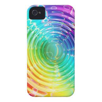 Rainbow Shockwave iPhone 4 Cases