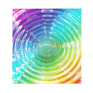 Rainbow Shockwave Notepads