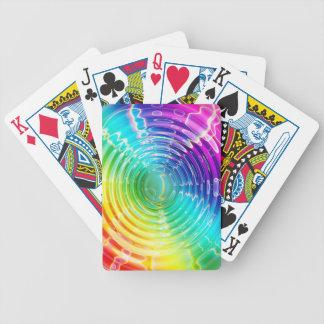 Rainbow Shockwave Poker Deck