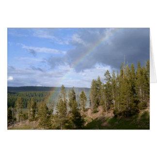 Rainbow Skies Card