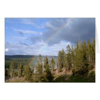 Rainbow Skies Greeting Card