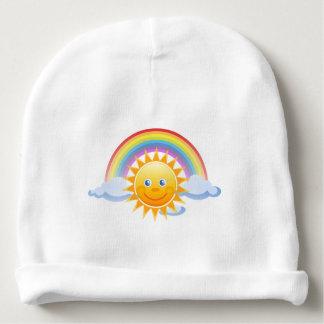 Rainbow Skies Office Personalize Destiny Destiny'S Baby Beanie