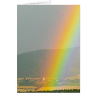 Rainbow Skies Office Personalize Destiny Destiny'S Card