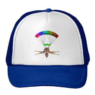Rainbow Skydiving by The Happy Juul Company Cap