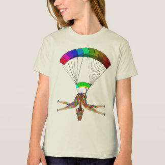 Rainbow Skydiving by The Happy Juul Company T-Shirt