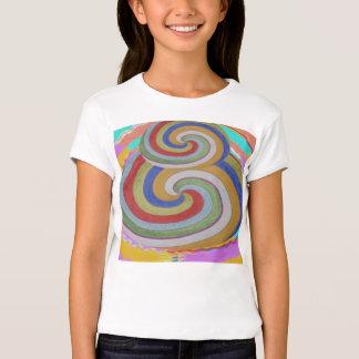 Rainbow SMART -  so HAPPY art HEART T-Shirt